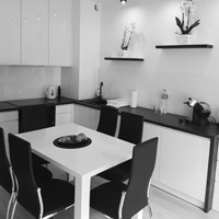 Black & White - Apartament 2 pokojowy