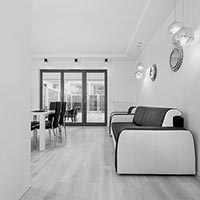 Black & White - Apartament 3 pokojowy